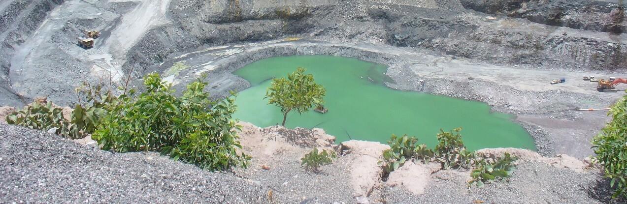 Uranium pit