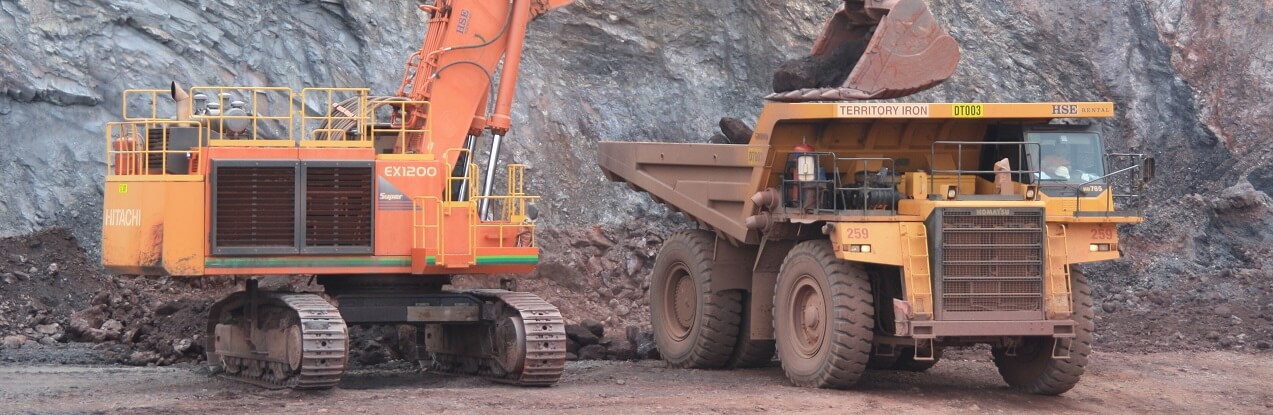 Iron ore machinery